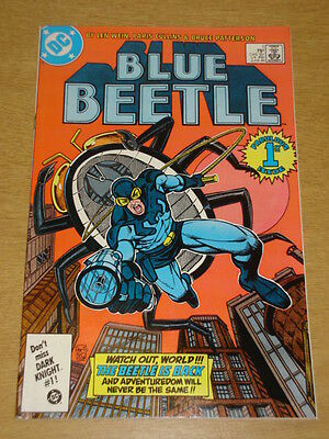 Blue Beetle #1 Dc Comics June 1986 Origin Retold Intro Firefist Scarce X