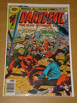 Daredevil #136 Marvel Comic Near Mint Condition August 1976