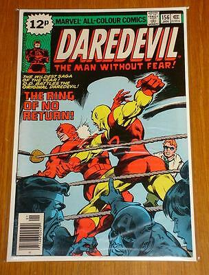 Daredevil #156 Marvel Comics Fn Condition January 1979