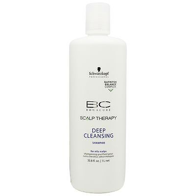 Schwarzkopf BC Bonacure Scalp Therapy Deep Cleansing Shampoo 1000ml for all