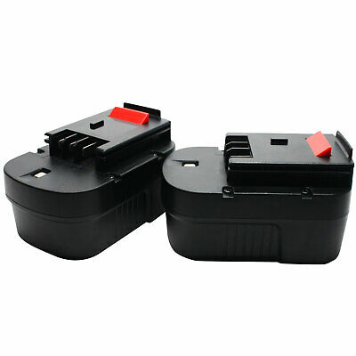 2-Pack 14.4V Battery for Black & Decker HPB14, PS142KB, HP146F2B A144EX BDGL1440
