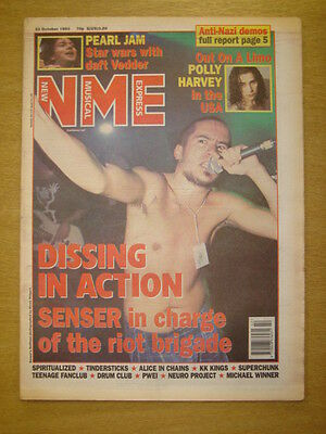 Nme 1993 Oct 23 Senser Pearl Jam Pj Harvey Superchunk