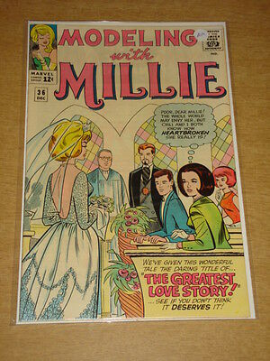Modeling With Millie #36 Nm (9.4) Marvel Comics December 1964 Cover A