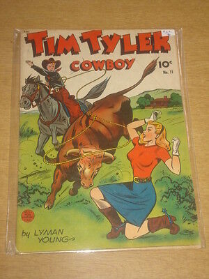 Tim Tyler Cowboy #11 Vg (4.0) King Features Comics 1St Issue November 1948