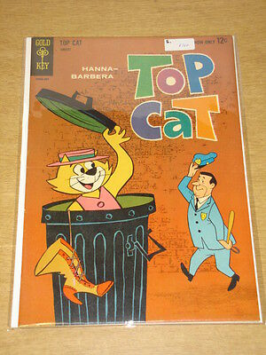 Top Cat #5 Fn/vf (7.0) Gold Key Comics Hanna Barbera January 1963