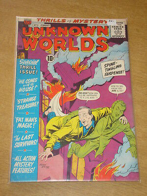 Unknown Worlds #5 Fn- (5.5) American Comics Group February 1961