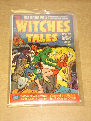 Witches Tales #7 Vg/fn (5.0) Harvey Comics January 1952