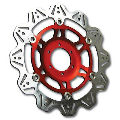 EBC Front Red Vee Rotor Brake Disc For Triumph 1993 Trophy 1200
