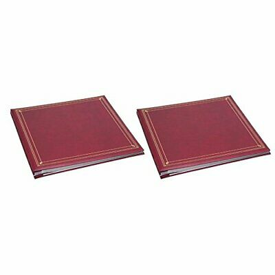 Pioneer Memo Pocket Album, Burgundy - Two Pack
