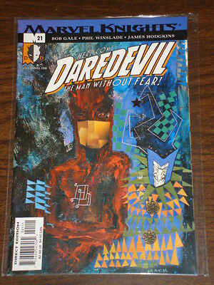 Daredevil Man Without Fear #21 Vol2 Marvel October 2001