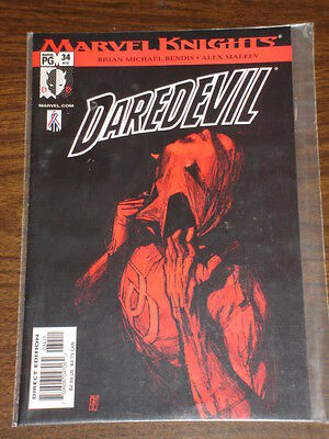 Daredevil Man Without Fear #34 Vol2 Marvel August 2002
