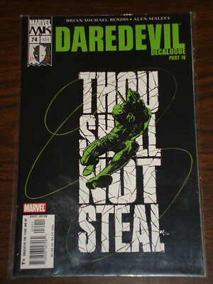 Daredevil Man Without Fear #74 Vol2 Marvel August 2005