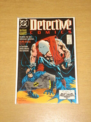Detective Comics #598 Batman Dark Knight 80 Pages Nm Condition March 1989
