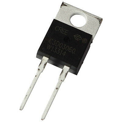 Cree C3D03060A SiC-Diode 5,5A 600V Silicon Carbide Schottky Diode TO220AC 855420