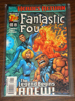 Fantastic Four #1 Vol3 Marvel Comics Ff Thing January 1998