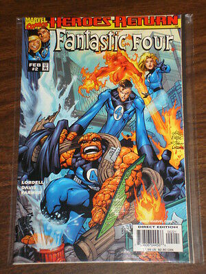 Fantastic Four #2 Vol3 Variant Marvel Comics February 1998