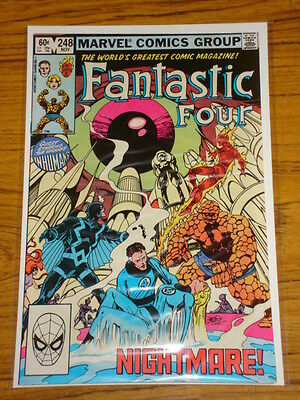 Fantastic Four #248 Vol1 Marvel Comics November 1982
