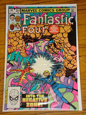 Fantastic Four #251 Vol1 Marvel Comics Byrne Art February 1983