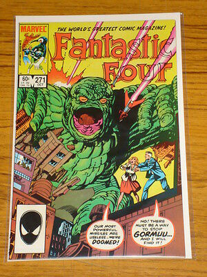 Fantastic Four #271 Vol1 Marvel Comics Byrne Art October 1984