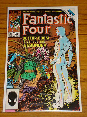 Fantastic Four #288 Vol1 Marvel Secret Wars Byrne Art March 1986