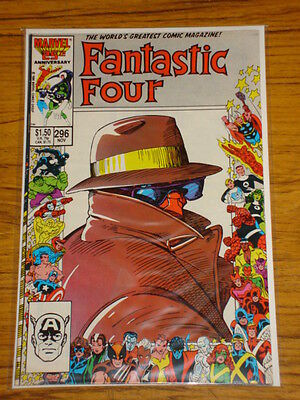Fantastic Four #296 Vol1 Marvel Comics Double Sized November 1986