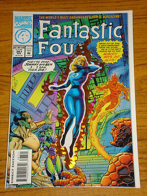 Fantastic Four #387 Vol1 Marvel Comics Prismatic Cover April 1994