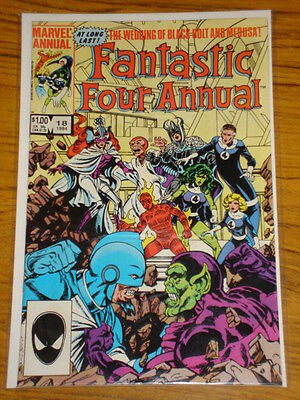 Fantastic Four Annual #18 Vol1 Marvel Byrne X-Over 1984