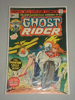 Ghost Rider #12 Vol 1 Marvel Comics June 1975
