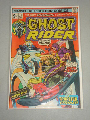Ghost Rider #13 Vol 1 Marvel Comics August 1975