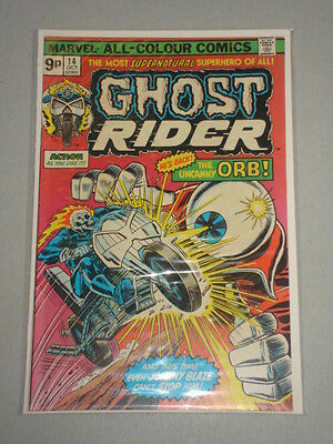 Ghost Rider #14 Vol 1 Marvel Comics October 1975