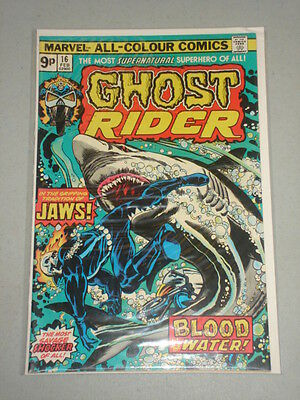Ghost Rider #16 Vol 1 Marvel Comics February 1976