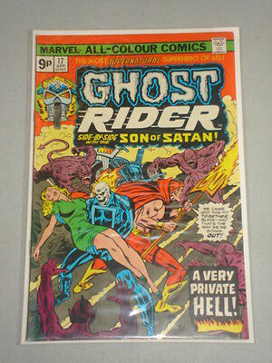 Ghost Rider #17 Vol 1 Marvel Son Of Satan April 1976