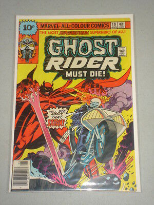 Ghost Rider #19 Vol 1 Marvel Comics August 1976