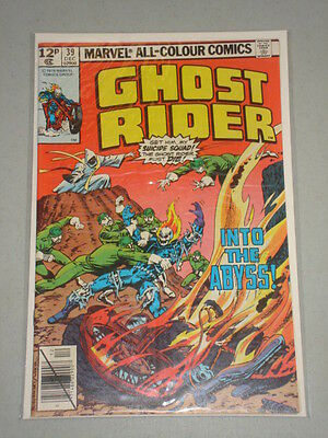 Ghost Rider #39 Vol 1 Marvel Comics December 1979