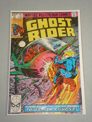 Ghost Rider #45 Vol 1 Marvel Comics June 1980