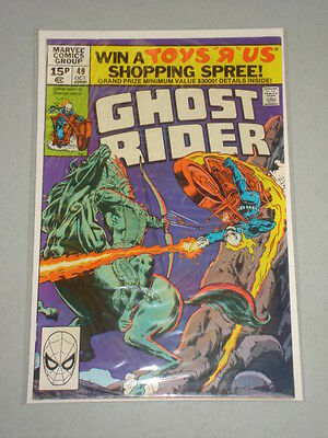Ghost Rider #49 Vol 1 Marvel Comics October 1980