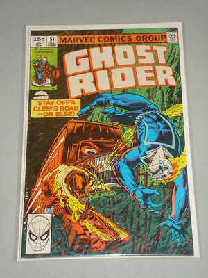 Ghost Rider #51 Vol 1 Marvel Comics December 1980