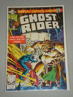 Ghost Rider #53 Vol 1 Marvel Comics February 1981