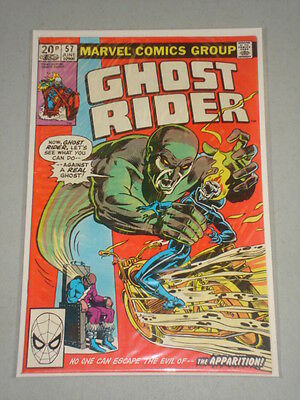 Ghost Rider #57 Vol 1 Marvel Comics June 1981