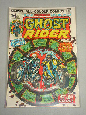 Ghost Rider #7 Vol 1 Marvel Comics August 1974