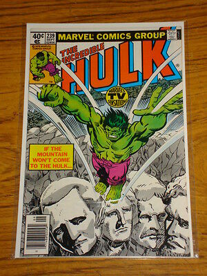 Incredible Hulk #239 Vol1 Marvel Comics September 1979