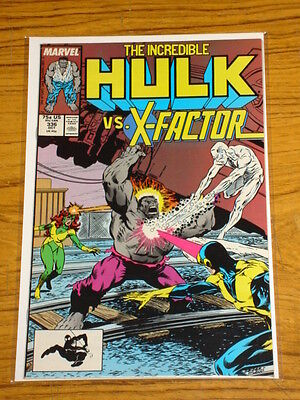 Incredible Hulk #336 Vol1 Marvel Mcfarlane X-Factor October 1987