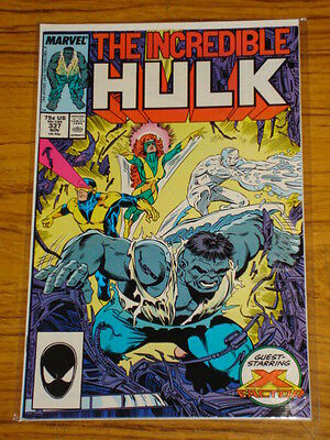Incredible Hulk #337 Vol1 Marvel Mcfarlane X-Factor November 1987