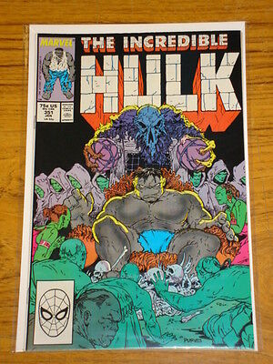 Incredible Hulk #351 Vol1 Marvel Comics January 1989