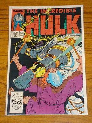 Incredible Hulk #352 Vol1 Marvel Comics February 1989