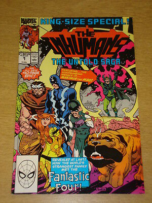 Inhumans Special #1 Marvel Comics King Size April 1990 Fantastic Four Spin Off X