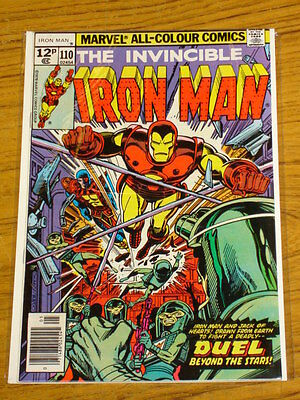 Ironman #110 Vol1 Marvel Comics Jack Of Hearts Origin May 1978