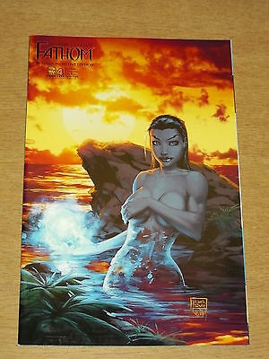 Fathom #4 Nm (9.4) Aspen Ri Variant Cover F Michael Turner  January 2009