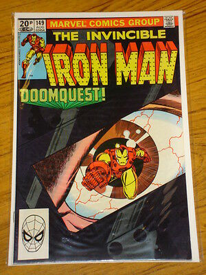 Ironman #149 Vol1 Marvel Comics August 1981