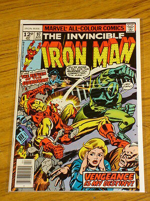 Ironman #97 Vol1 Marvel Comics Kirby Cover April 1977